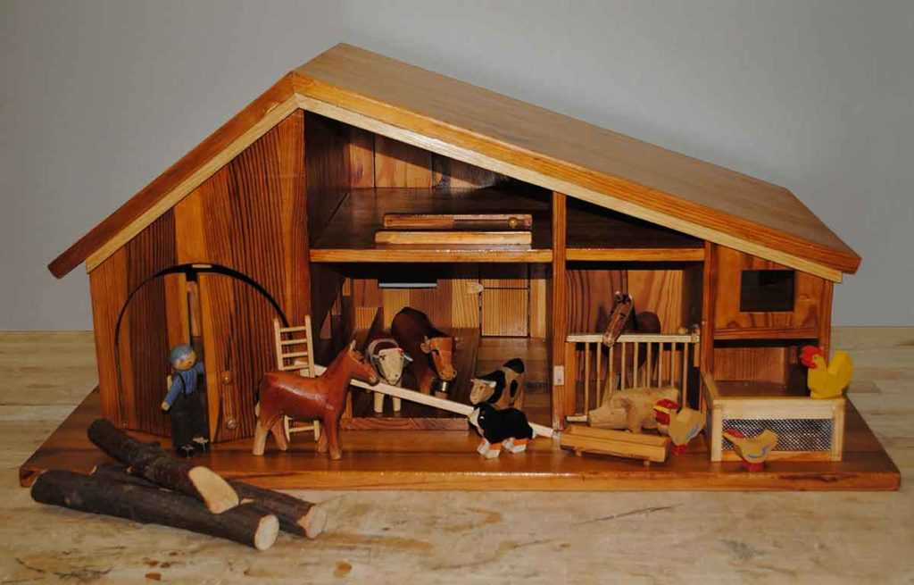 Holzfarm Holzspielzeug Spielzeug Tiere