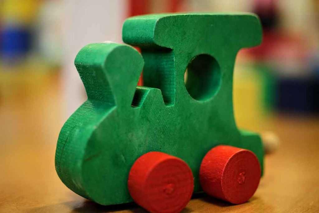 Holzspielzeug Spielzeug Holzeisenbahn