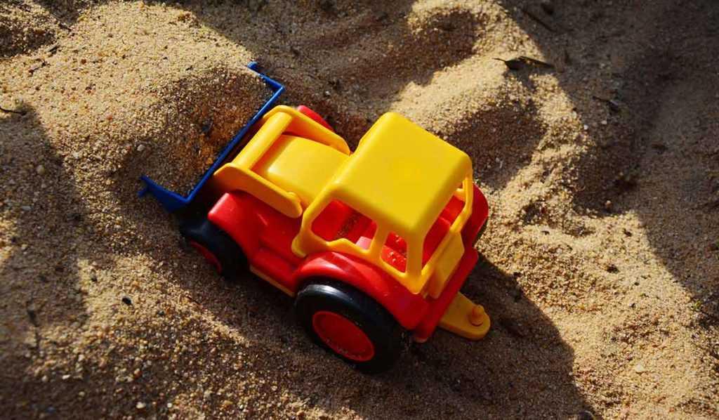 Sandkasten Spielzeug
